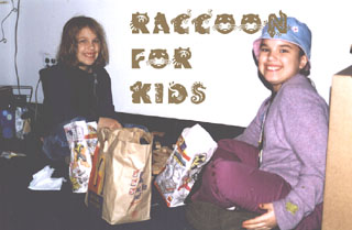 Raccoon for kids